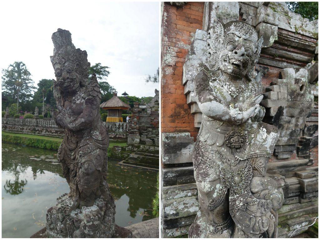 Taman Ayun statues